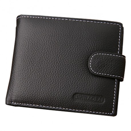 Men's Leather Fashion Wallet With Coin Purse