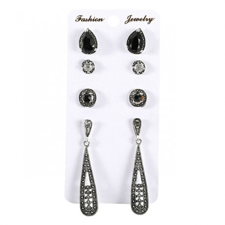 4 Pairs Earring Combination.